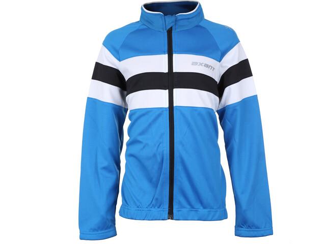 axant Expert Thermo Koszulka rowerowa z zamkiem błyskawicznym Dzieci, blue